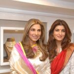 Twinkle Khanna with her mother