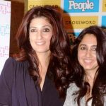 Twinkle Khanna with her sister
