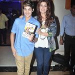 Twinkle Khanna with her son
