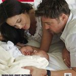 Twins of Jolie Pitt in Hello Magazine