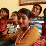 Ulka Gupta with her family