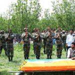Ummer Fayaz funeral