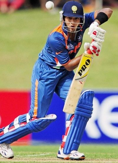 Unmukt Chand batting