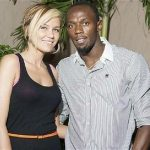 Usain Bolt with his Ex-girlfriend Lubica