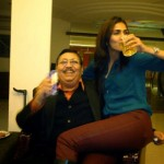 Vaani Kapoor with her father Shiv Kapoor