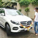 Vicky Kaushal - Mercedes Benz GLC SUV