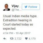 Vijay Mallya tweet