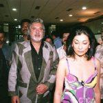 Vijay Mallya with his present wife Rekha Mallya