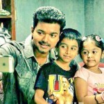 Vijay with his children
