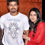 Vijay with his wife