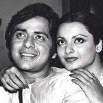 Vinod Mehra with Rekha