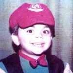 Virat Kohli childhood photo