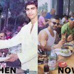 Virat Kohli with Ashish Nehra then and now