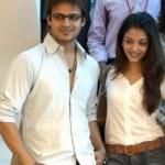 Vivek Oberoi with Aishwarya Rai