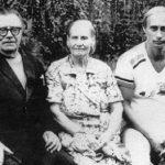 Vladimir Putin with Parents