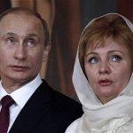 Vladimir Putin with ex wife Lyudmila