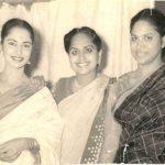 Waheeda Rehman, Mummy and sister Sayeeda Rehman
