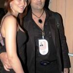 Waluscha De Sousa with Ex-husband Marc Robinson
