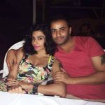 Yashmeen Chauhan with her husband