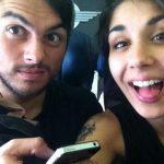 Yasmine with her Boyfriend