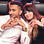 Yo Yo Honey Singh with his wife Shalini Talwar Singh