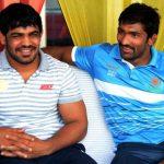 Yogeshwar Dutt with Sushil Kumar