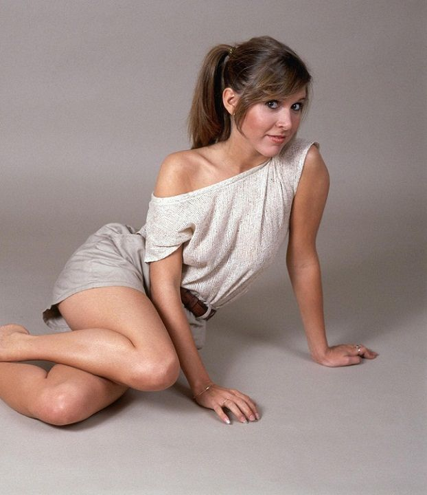 Young Carrie Fisher