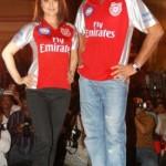Yuvraj Singh with preity Zinta
