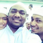 Zakir khan with his brothers