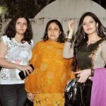 Zarine Khan with her family