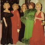 Zsa Zsa Gabor with her mother daughter and sisters