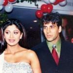Shilpa Shetty with Akshay Kumar