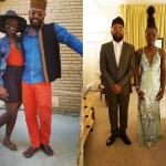 Mobolaji Dawodu with his lady love Lupita
