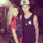 Justin Bieber With His Ex-Girlfriend Chantel Jeffries