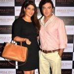 Jugal Hansraj dan istrinya Jasmine Hansraj (NRI Investment Banker)