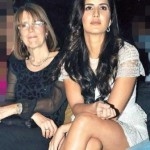 Katrina Kaif with her mother Suzanne Turquotte