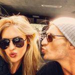 Kayla and Ryan like to make kissing faces