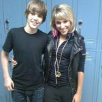 Justin Bieber With His Ex-Girlfriend Mandy Rain