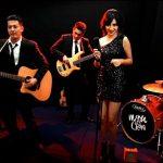 Plabita Borthakur performing in band