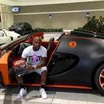 Mayweather with Bugatti Veyron