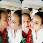 Sunanda with Mother
