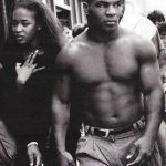 Mike Tyson with Naomi Campbell