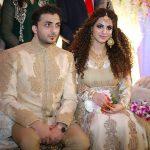 Annie Khalid with Saad Ahmede Khan
