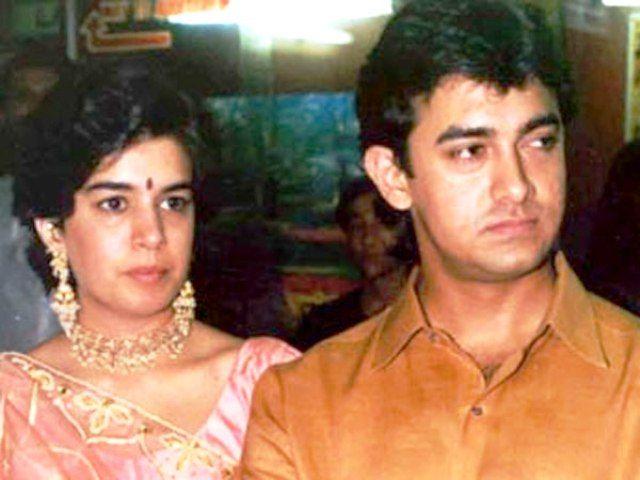 aamir's ex-wife reena dutta