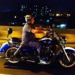 Sanjay Gupta On his bike adventure
