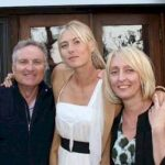 Sharapova with Parents