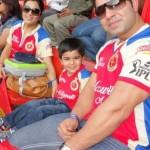Virat Kohli's brother, sister-in-law & nephew