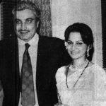 Waheeda Rehman and her Husband Shashi Rekhi