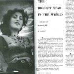 Madhubala In The 'Theatre Arts' Journal
