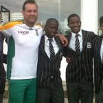 Jacques Kallis Supporting The Students
